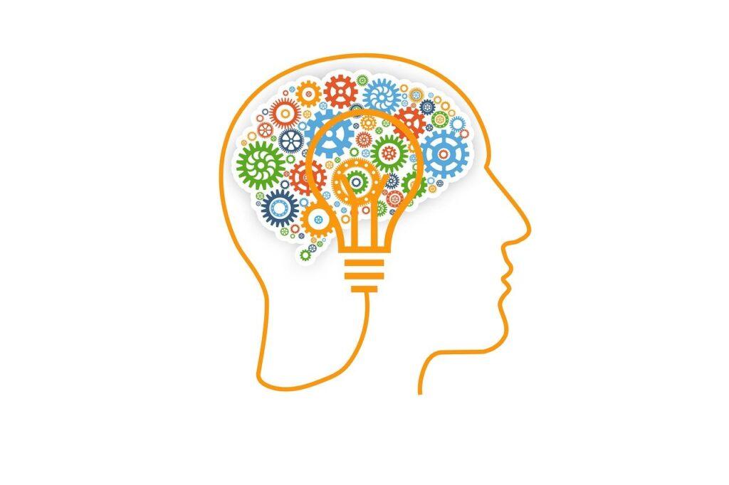 brain, gears, concept