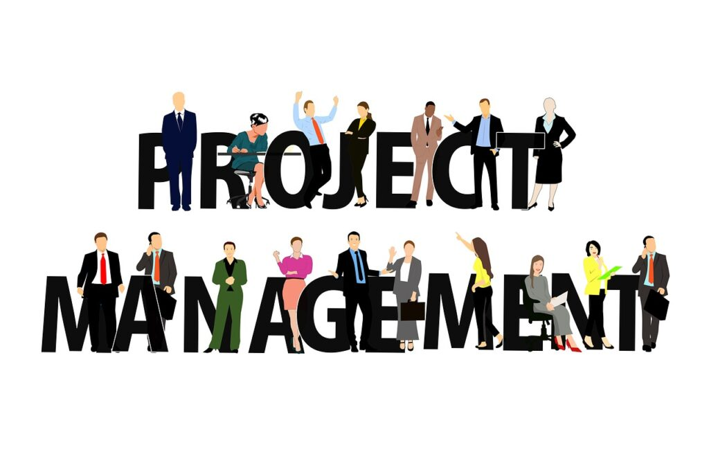 project, management, staff